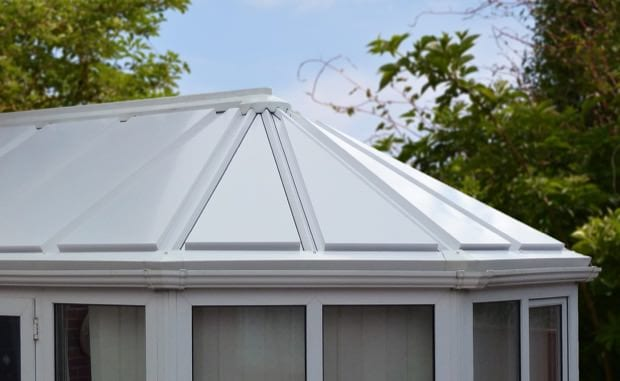 After-Conservatory Roof