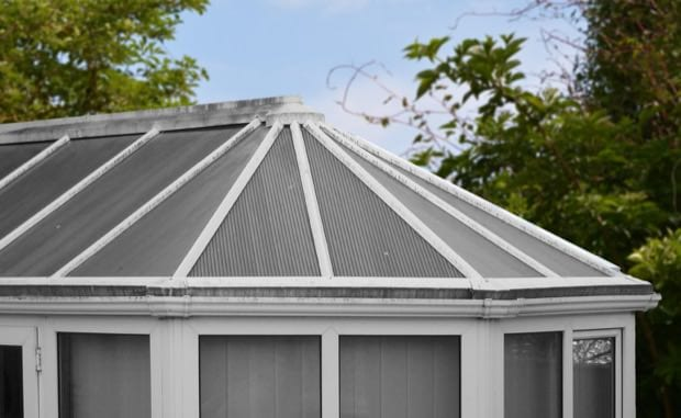 Before-Conservatory Roof